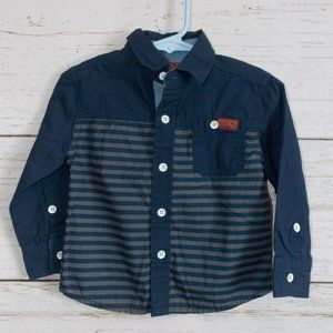 Striped Button-down shirt 18m